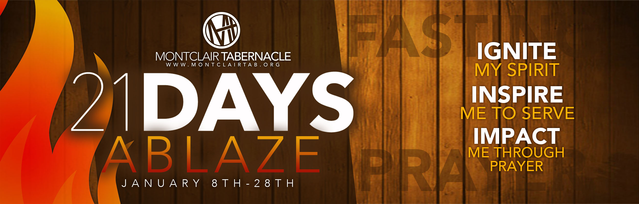 21 days ablaze 2018